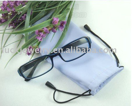 free shipping UPS eyeglasses organize / eyeglasses bag / eyeglass velvet bag mixed color 100 pcs/lot size : 17.5cm*8.5cm(China (Mainland))