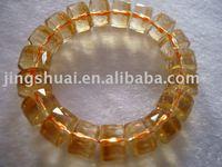 Natural natural facets bracelet + shiny +11mm*9mm