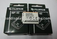 Free shipping+20pcs/ctn,new NP-45 np45 camera Battery For Fuji FinePix J12 J120 J150W J15FD J20,in retail package