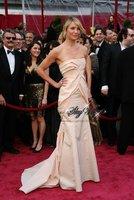 P448*Strapless satin sheath Evening Dress