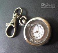 Artificial Diamonds pendant pocketwatch/retro sweaterchain pocketwatch/ keychain watches/gift box