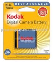 20pcs/ctn,950mah,new KLIC-7004 klic7004 7004 camera Battery for Kodak Zi8 V1273 V1253 V1233,sealed