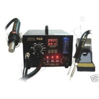 220V Aoyue 968 SMD Hot Air 3in1 Repairing & Rework Station Soldering Irons & Stations welding iron free shipping