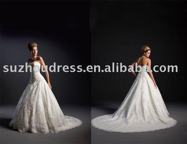 2011 New Style cinderella costume weeding dress