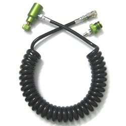 Wholesale Paintball stuff Coil Remote Hose without Slide Check (olive) paintgun marker parts(China (Mainland))