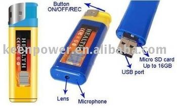 Free Shipping  Mini DVR Lighter Hidden Wireless Camera Lighter 720*480 Micro Video Recorder Cam Camcorder Dropshipping