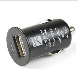Free shipping:10pcs /Lot mobile phone car charger,Car Charger for iphone ipod USB Interface