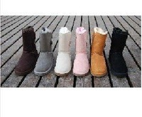 mix order 3 pair/lot>Women's snow boots 5815 5825 5819 5854 with certificate,dust bag,box size:us 5-11+free shipping