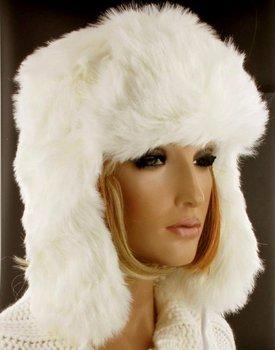Free shipping European style Cozy Faux Fur hat, Faux fur cap,Faux Fur Hat,Hair scarf cap,warm cap