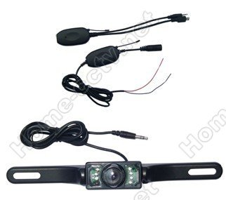 Free shipping, 2.4G wireless car rearview camera, parking camera(China (Mainland))