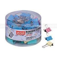 Wholesale-Free Shipping 48 pieces/Lot Deli desk set inc paper clip/thumb tack/binder clip