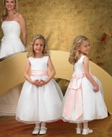 free shipping new arrived Children dres girl dress Beautiful Marriage gauze skirt Flower dress Evening dress skirt Gown