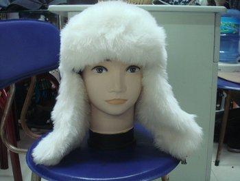 Free shipping Cozy Faux Fur hat, Faux fur cap,Faux Fur Hat,Hair scarf cap,warm cap