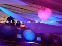 inflatable decoration heart inside LED light