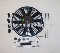"10 inch 24V suck electric radiator fan,universal auto cooling fan and kits 10"" 24V"