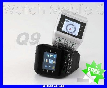 "Free shipping Q9 Dual SIM Mobile Phone with 1.4""Touch LCD,2.0MP Pinhole Camera.Dual SIM Standby,FM Radio,Bluetooth"