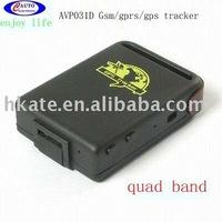 free shipping hot item quadband mini gifst for personal  old man  & woman  car gps tracker AVP031D