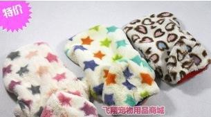 O envio gratuito de Nova chegada! pet flanela produtos pet roupas de inverno ambos os lados podem usar(China (Mainland))