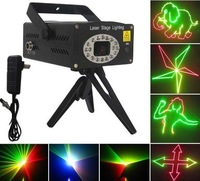 5pcs S-D010 Laser Star Projector Stage Party Lighting Mini Laser stage lighting -- freeshipping