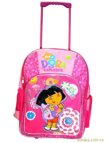 Cartoon kids school bag backpack rucksack shoulder bag