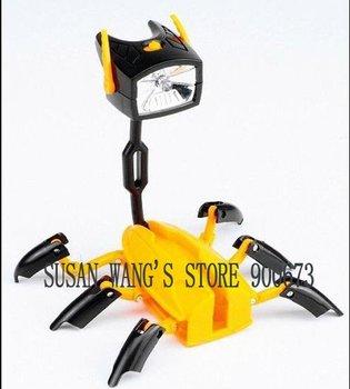 Hot!!! Free Shipping Novelty Product Amazing Led Flashlight Torch Transformer Light Lamp Robot & Nightlight &Deform w208