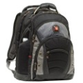 WENGER Swiss Army 12&quot;-15.4&quot; Laptop Backpack GA-7305 Black!!/1680D : Ballistic Nylon/Media pocket/Water bottle pocket(China (Mainland))