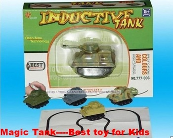 Hot New novelty magic inductive tank inductive vehicle toy tank best birthday gifts for children