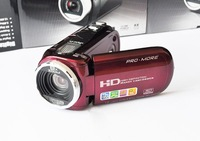 HD-C4 RED 12MP digital video camera 8x zoom 2.7 inch TFT LCD 5.0 CMOS RED HD DV