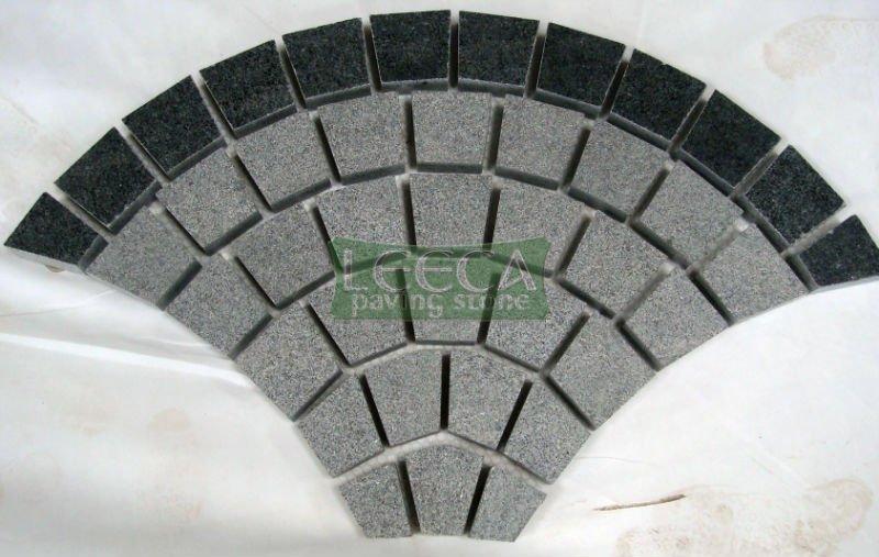 Granite Blocks For Garden Light/dark Granite Garden