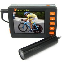 wholesale and detail+card DVR camera 2.5 Inch Screen Digital Video Recorder + Mini Bullet CCD Camera 4GB