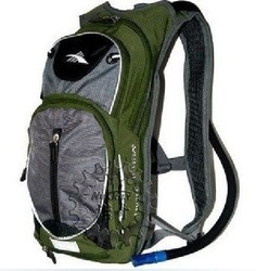 Free Shipping!! 2011 New HIGH SIERRA backpack/bike bag/water bag*containing Army Green riding back(China (Mainland))