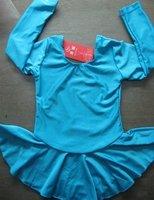 2015 Direct Selling Girls Vestido Wholesale -free Shipping! Brand New Tia's Dancewear Ice Skating Skirt W Shorties