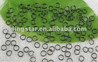 FREE SHIPPING 5000PCS Black JUMP RING connectors 5mm M258
