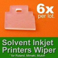 6x Solvent Inkjet Printer Wiper Roland Mutoh Mimaki JV3