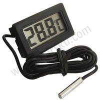 Free shipping LCD Digital Fridge Refrigerator Freezer Sensor Thermometer Temperature Probe Auto Car Tester
