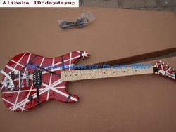 Kramer 5150 EVH series red Electric guitar Kr01 2010 wholesale ,Free shipping EMS(China (Mainland))