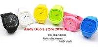 Wholesale--30pcs/lot ZG watch ,Fashion silicone watch, jelly watch