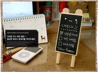 Wholesale --Free Shipping Mini Blackboard / Message Board / Memo Board / Stationery / message board