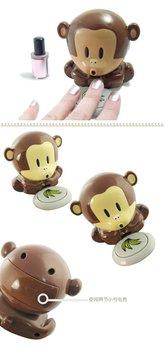 Cute Monkey Design Nail Polish Cooler Fingernails mini Blower Dryer  Makeup Nail