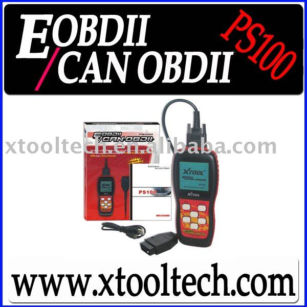 [XTOOL] Discount!OBD 2/OBD II Code Reader/Auto Code Scanner/Car Code Scanner PS100(China (Mainland))