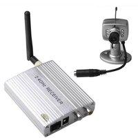 FREESHIPPING+Guaranteed 100% +Night Vision 380 TV Lines Wireless CMOS Camera Kit