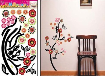 Free shipping,self-adhesive Sticker,68*34cm,Wall sticker,Christmas Decoration wall stickers, Cartoon Paper Stickers,Home Decals