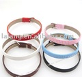 42x Mixed Belt Leather Buckle Bracelet  22.5cm Fit 9mm bead 190061