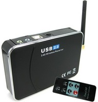 Freeshipping+Wholesale and retail +2.4Ghz USB 2.0 Wireless Receiver