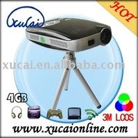 Mini pocket projector portable 720P decoding projector