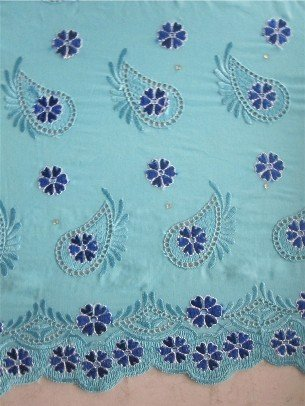 Free shipping,voile embroidery lace,African lace,African lace supplier,african lace manufacturer (2005)(China (Mainland))