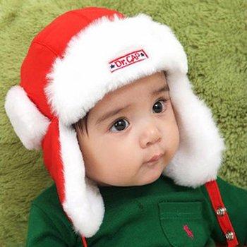 20piece/lot,Children cap, winter cap, ear cap, ear hats, baby cap, colors for Red,Yellow.free shipping