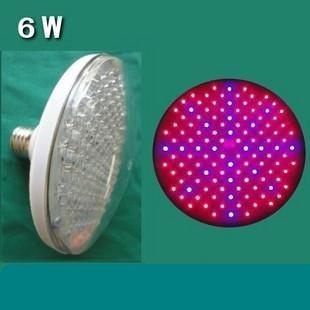 Free shipping+10PCS E27 120LEDS plant growth light / fill light / Plant Lamp / 6W!