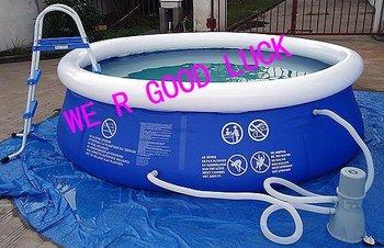 family pool,PL03,foot pump+Repair kit, swimming pool,backyard pool