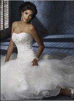 Free Shipping New Popular elegant wedding dress/ sexy evening dress/ evening gown / prom dress